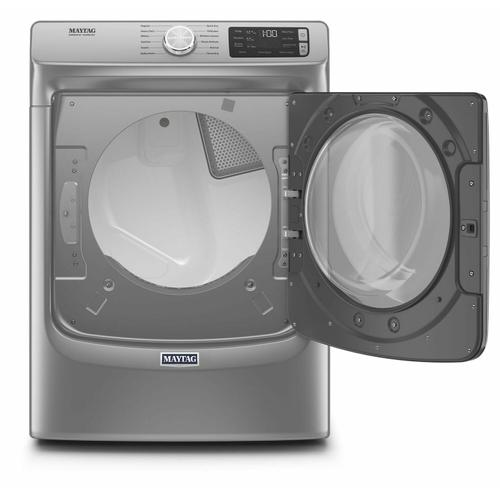 Front Load Electric Dryer with Extra Power and Quick Dry Cycle - 7.3 cu. ft. Metallic Slate