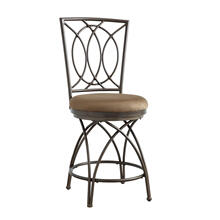 Brasco Big and Tall Counter Stool Bronze
