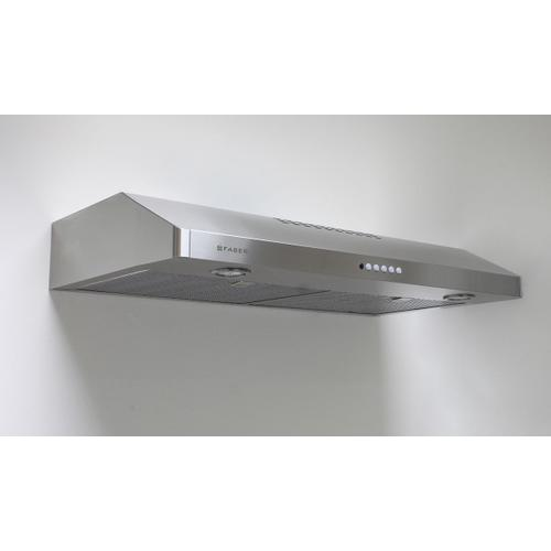 "30"" under cabinet hood stainless steel"