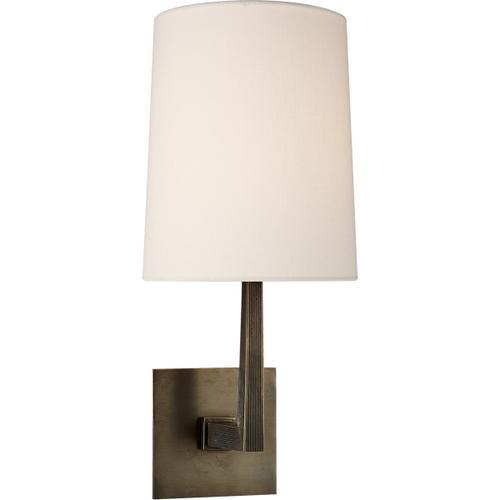 Visual Comfort - Barbara Barry Ojai 1 Light 7 inch Bronze Sconce Wall Light, Medium
