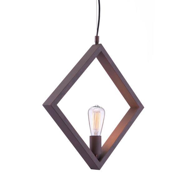 See Details - Rotorura Ceiling Lamp Rust