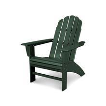 Green Vineyard Curveback Adirondack Chair
