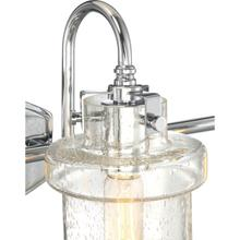 View Product - Danbury Bath Light in Polished Chrome