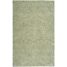 Filigree Burwell Green - Rectangle - 5' x 8'