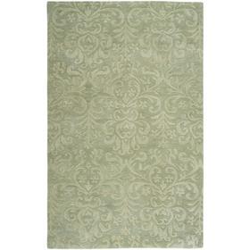 Filigree Burwell Green - Rectangle - 5' x 8'
