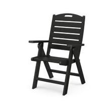View Product - Nautical Highback Chair in Black