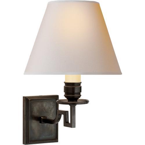 - Alexa Hampton Dean 1 Light 8 inch Gun Metal Decorative Wall Light