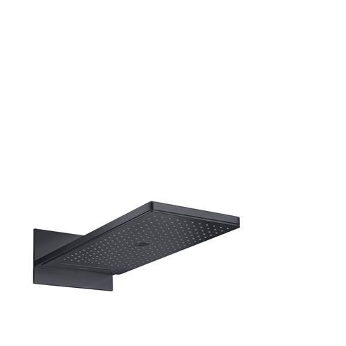 Satin Black Overhead shower 250/580 3jet