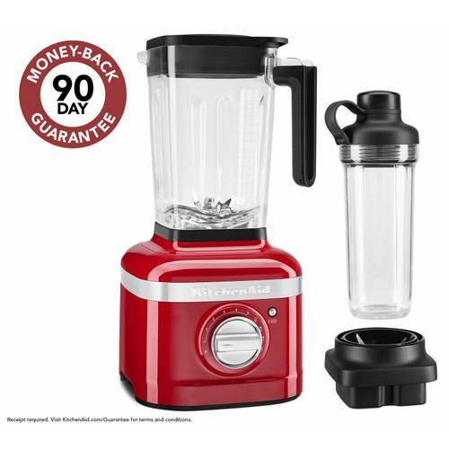 KitchenAid - K400 Variable Speed Blender with Personal Blender Jar - Passion Red