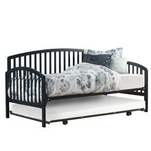 Carolina Complete Twin Size Daybed With Trundle, Navy