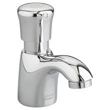 Pillar Tap Metering Faucet  Extended Spout  1.0 GPM  American Standard - Polished Chrome