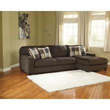 Westen Chocolate Chaise Sofa