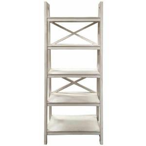 Million Dollar Rustic - Ww X Brace Ladder Bookshelf