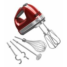 See Details - 9-Speed Hand Mixer - Candy Apple Red