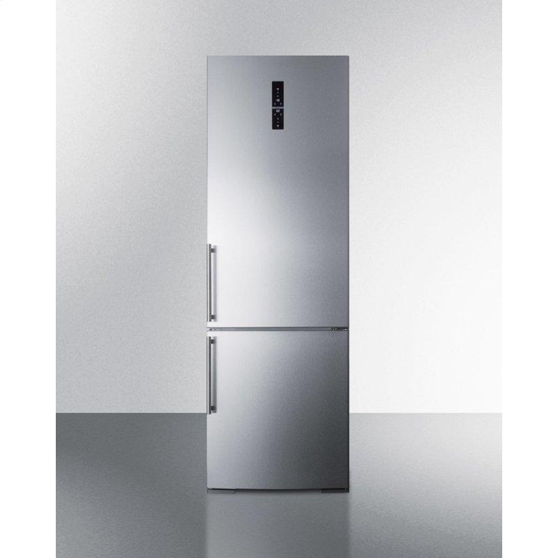 "24"" Wide Built-in Bottom Freezer Refrigerator"