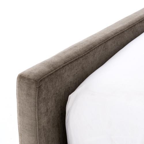 Four Hands - Queen Size Sage Worn Velvet Cover Daphne Bed