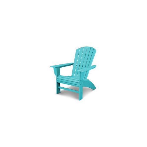 Nautical Curveback Adirondack Chair in Vintage Aruba