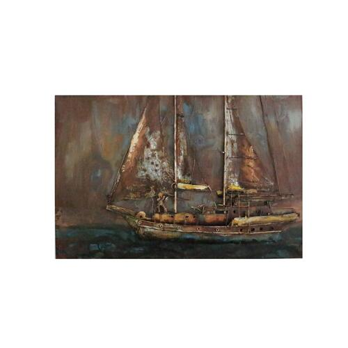 Gallery - Modrest Pinnace Modern Boat Painting