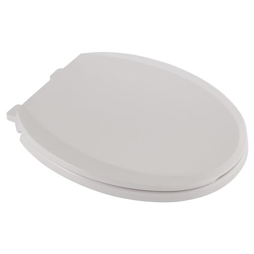 Cardiff Round Front Slow-Close Toilet Seat  American Standard - White