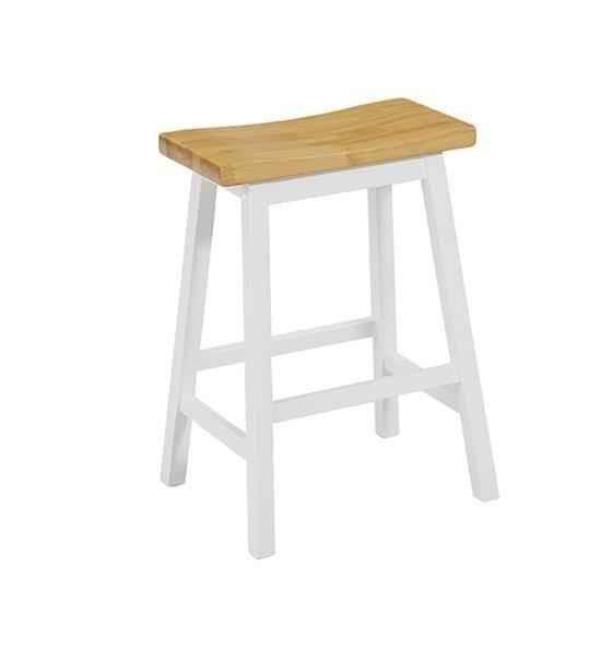 Counter Stools (2/Ctn) - Oak/White Finish
