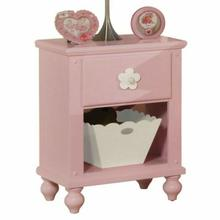 ACME Floresville Nightstand w/basket - 00739 - Pink
