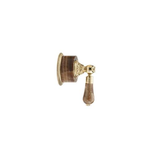 VERSAILLES Volume Control/Diverter Trim 2PV241A - Satin Gold with Satin Nickel