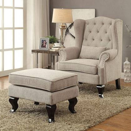 See Details - Willow Ottoman
