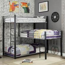 See Details - Aubrey Twin Triple Decker Bed