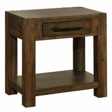 View Product - Domingo 1 Drawer Accent Table in Walnut