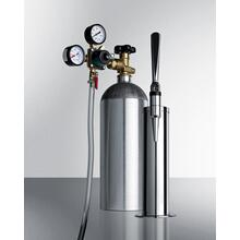Tapping Equipment With Nitrogen Tank To Serve Nitro-infused Stout Beer From Most Kegerators
