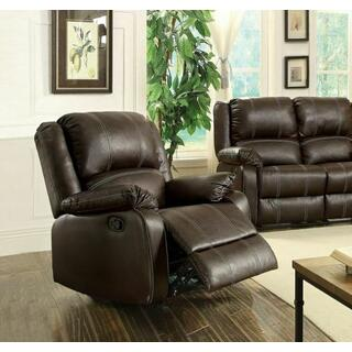 ACME Zuriel Rocker Recliner - 52282 - Brown PU
