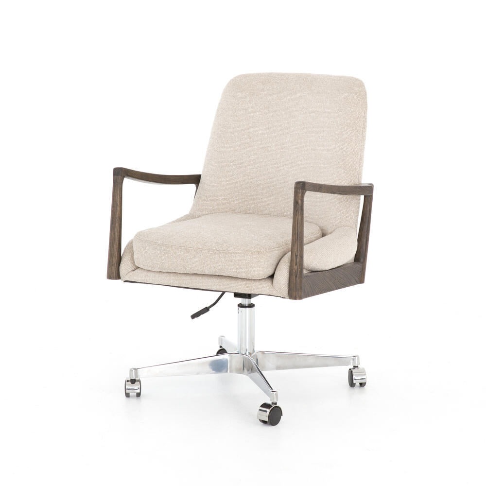 Light Camel Cover Braden Desk Chair