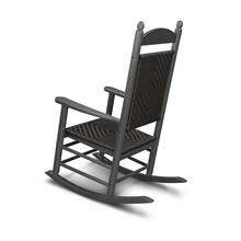 Black & Cahaba Jefferson Woven Rocking Chair