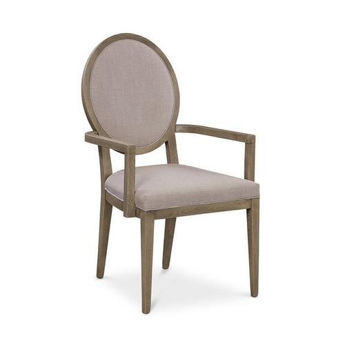 Bassett Furniture - Ostrow Oak Arm Chair