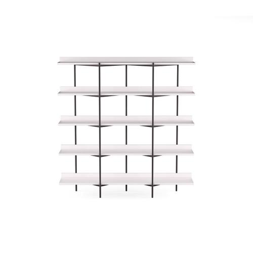Shelving System 5305 in Satin White Satin White