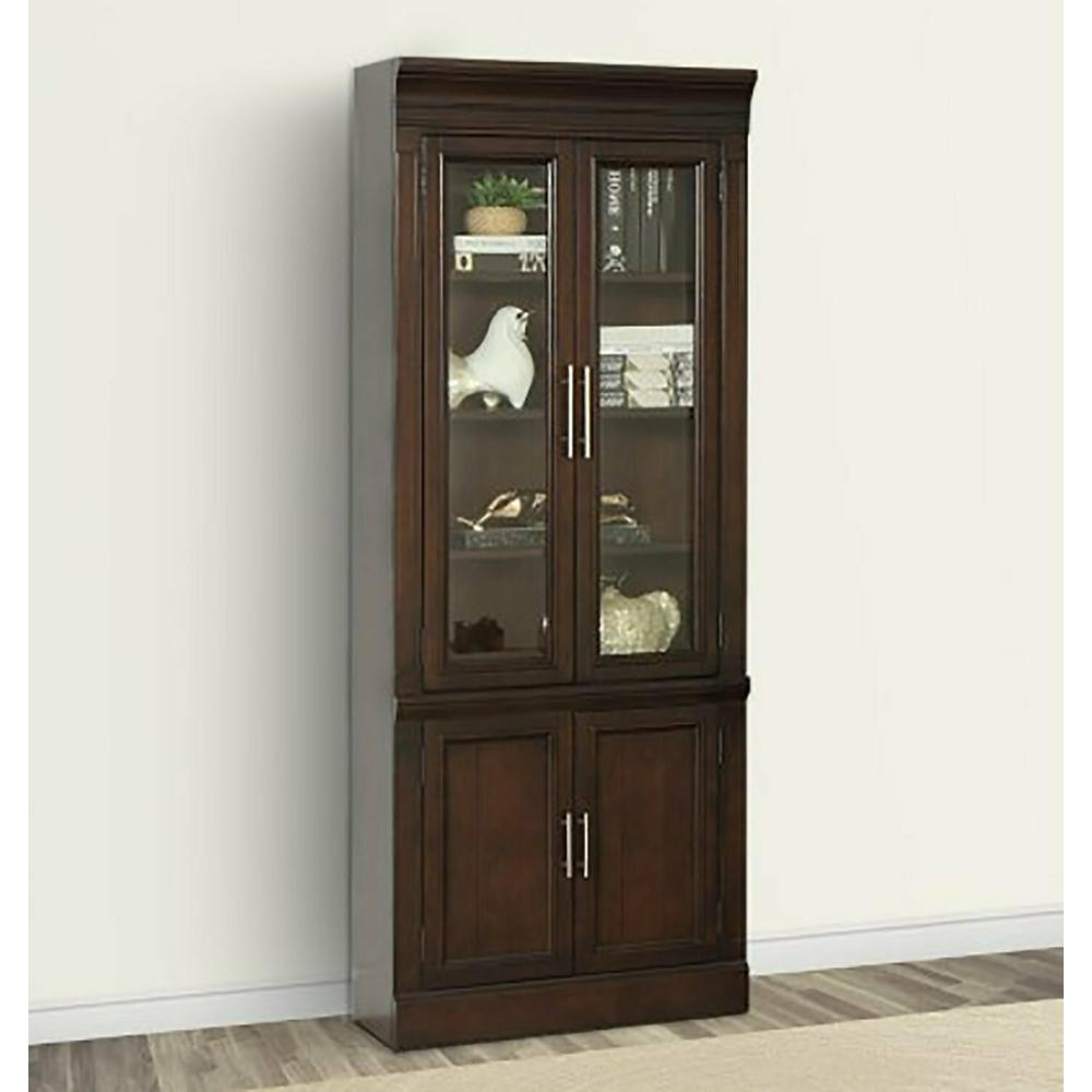 See Details - STANFORD 32 in. Glass Door Cabinet