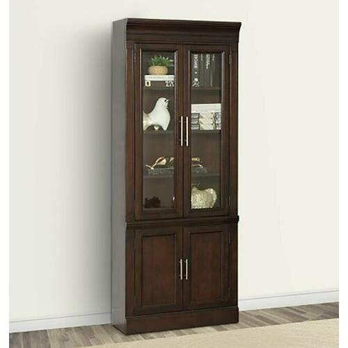 STANFORD 32 in. Glass Door Cabinet