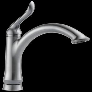 Arctic Stainless Single Handle Kitchen Faucet Product Image