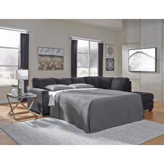 Product Image - Altari Sleeper Sectional Slate Right