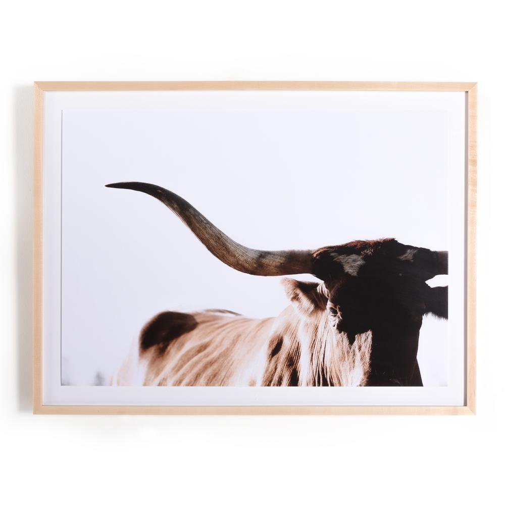 Rustic Texas Longhorn By Teague Studios