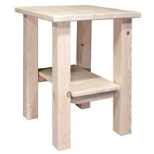 See Details - Homestead Collection Nightstand With Shelf