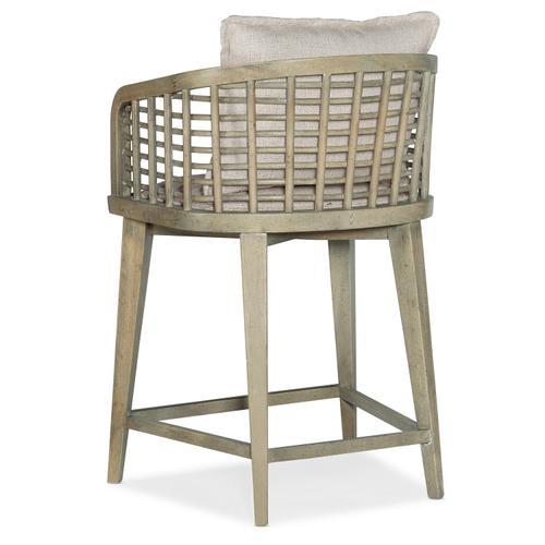 Hooker Furniture - Surfrider Barrel Back Counter Stool
