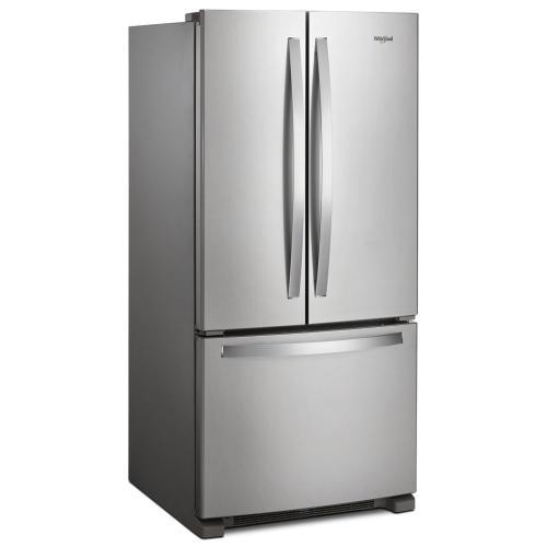Whirlpool - 33-inch Wide French Door Refrigerator - 22 cu. ft.