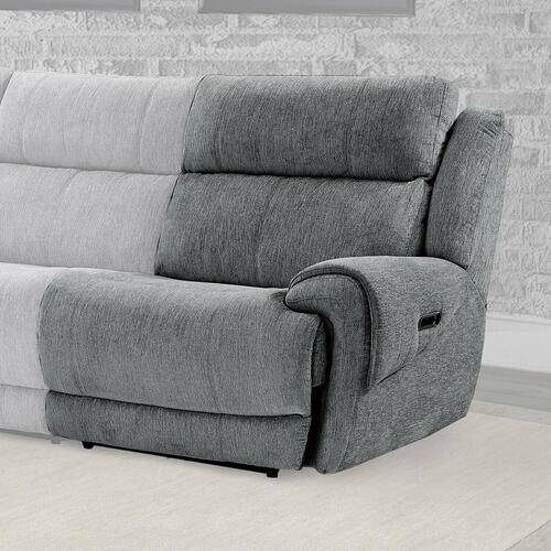 Parker House - SPENCER - TIDE GRAPHITE Power Right Arm Facing Recliner