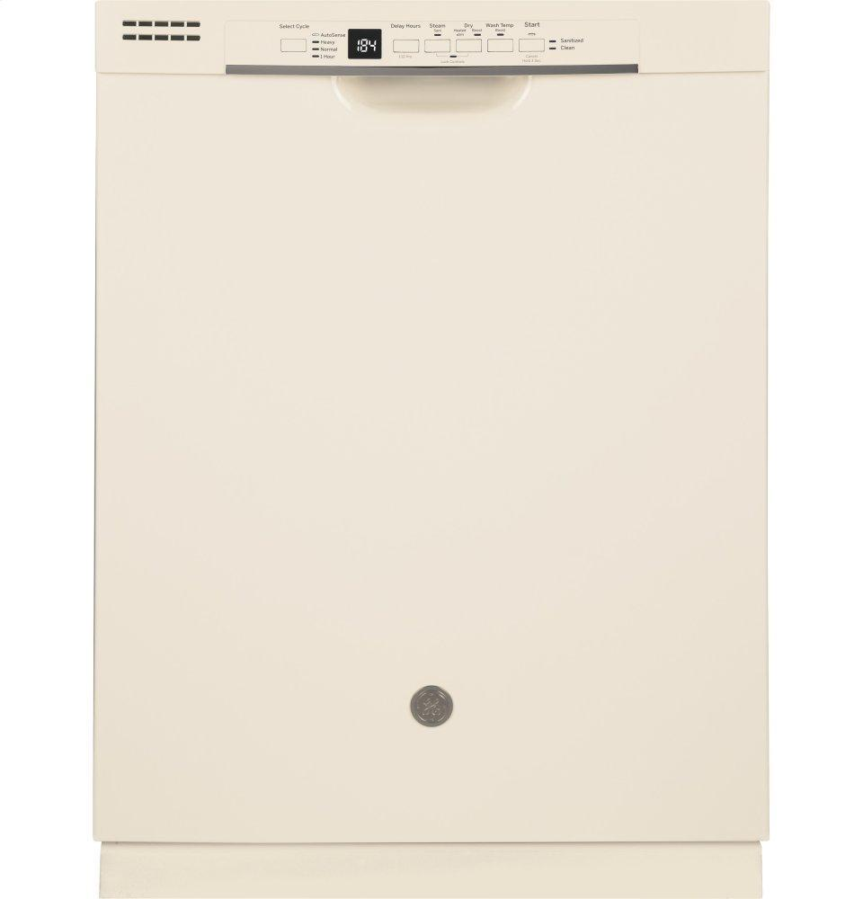 GE®front Control With Plastic Interior Dishwasher With Sanitize Cycle & Dry Boost