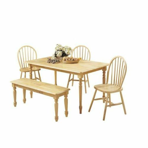 ACME Farmhouse Dining Table - 02247N - Natural