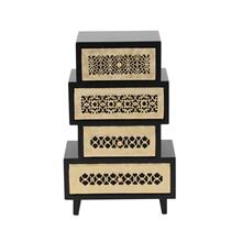 "WD JEWELRY CHEST 8""W, 13""H"