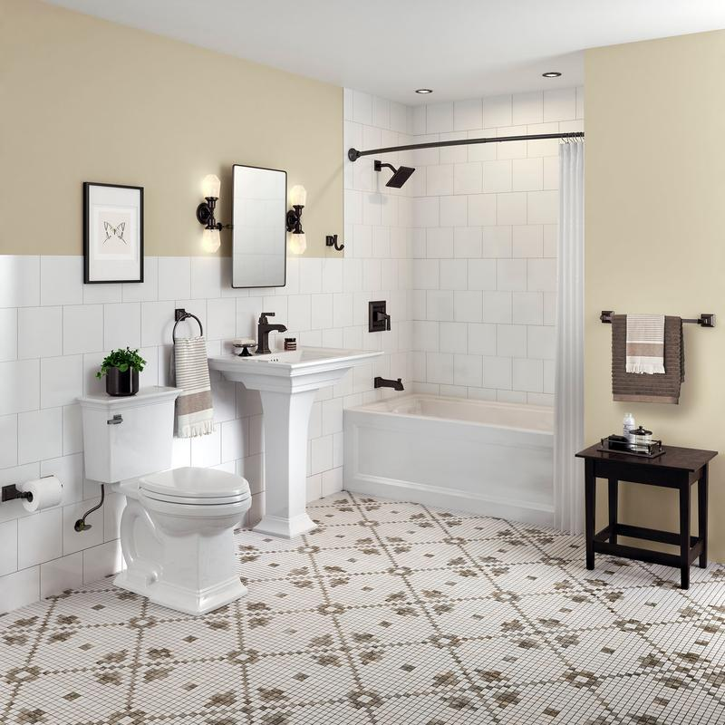 0297100020 In White By American Standard In Calgary Ab Town Square S Pedestal Sink American Standard White