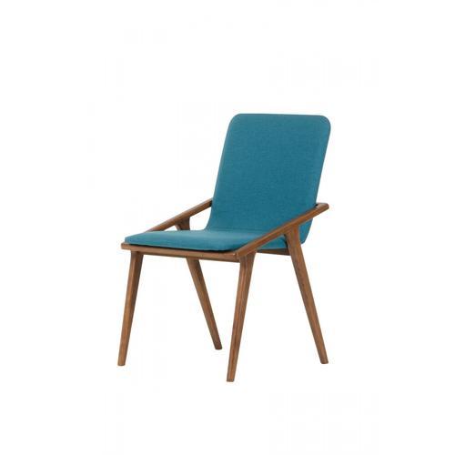 VIG Furniture - Zeppelin - Modern Blue Dining Chair (Set of 2)