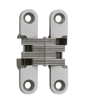 Model 204SS Stainless Steel Invisible Hinge Satin Stainless Steel Product Image
